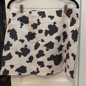 Dresses & Skirts - Cow print skirt